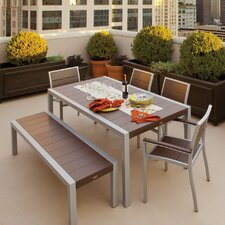<strong>Trex Outdoor</strong> Trex Outdoor Surf City 6 Piece Dining Set