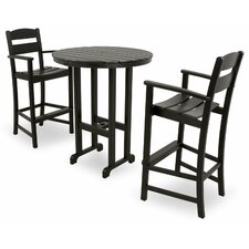Ivy Terrace 3 Piece Bar Set