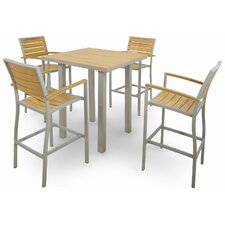 <strong>Ivy Terrace</strong> Ivy Terrace 5 Piece Bar Set