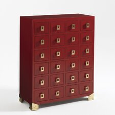Mandalay 24 Drawer Gentleman's Chest
