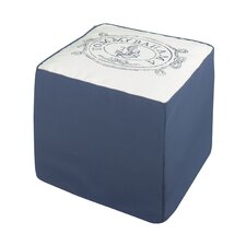 Island Anchors Away Ottoman
