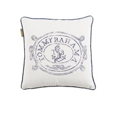 "Paradise ""Anchors Away"" Pillow"