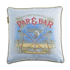 "Paradise ""Par & Bar"" Pillow"