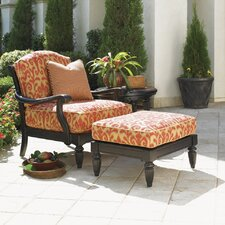 <strong>Tommy Bahama Outdoor</strong> Kingstown Sedona Lounge Chair and Ottoman with Cushions