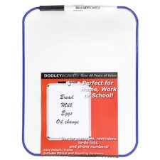 "<strong>Dooley Boards Inc</strong> 8.5"" x 11"" Dry Erase Board"