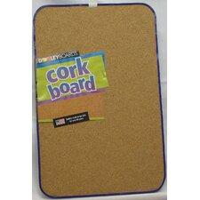 """Cork 1' 5"""" x 11"""" Bulletin Board"""