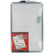 "Magnetic Dry Erase 1' 5"" x 11"" Whiteboard"