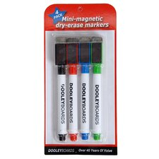 Mini Marker 4 Count