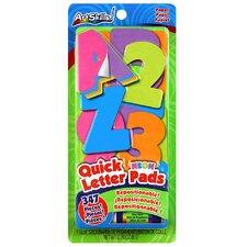 Neon Quick Letter Pad