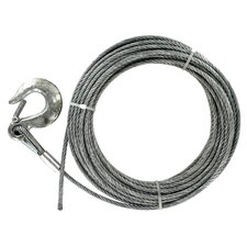 "600"" x 0.25"" Galvanized Pre-Cut Cable"