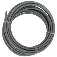 "360"" x 0.19"" Galvanized Cable"