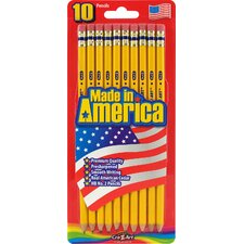 #2 Pre Sharpened Pencil (10 Count)