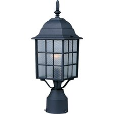 <strong>Maxim Lighting</strong> North Church 1 Light Outdoor Post Lantern