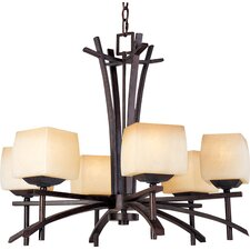 Potina 6 - Light Single - Tier Chandelier