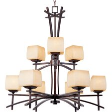 Potina 9 - Light Multi - Tier Chandelier