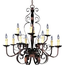 Benavente 12 - Light Multi - Tier Chandelier