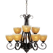 <strong>Maxim Lighting</strong> Barcelona 9 Light Chandelier