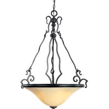 Castello 3 Light Inverted Pendant