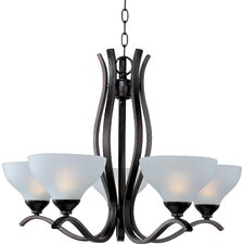 Contour 5 Light Chandelier