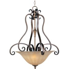 Chapelle 3 - Light Invert Bowl Pendant