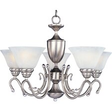 <strong>Maxim Lighting</strong> Newport 5 Light Chandelier