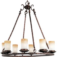 Whomage 8 - Light Single - Tier Chandelier