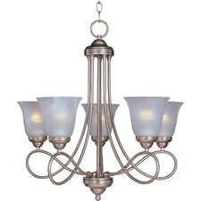 <strong>Maxim Lighting</strong> Nova 5 Light Chandelier