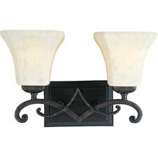 Oak Harbor 2 Light Vanity Light