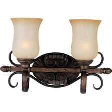 <strong>Maxim Lighting</strong> Sausalito 2 Light Vanity Light