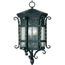 Crestgrove 3 - Light Outdoor Hanging Lantern