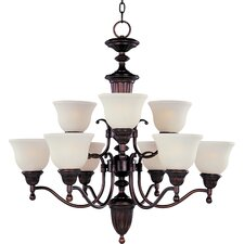 Collinsford 9 - Light Multi - Tier Chandelier