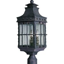 Nantucket 3 Light Outdoor Post Lantern