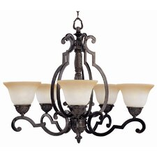 <strong>Maxim Lighting</strong> Southern 5 Light Chandelier
