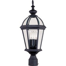 <strong>Maxim Lighting</strong> Builder Cast 3 Light Outdoor Post Lantern