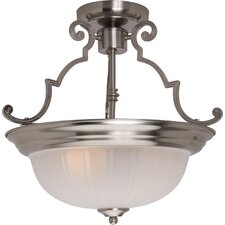 2 Light Semi Flush Mount