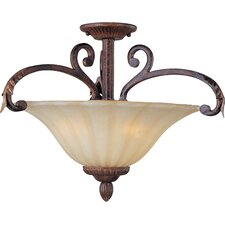 Octavio 3 - Light Semi - Flush Mount