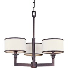 <strong>Maxim Lighting</strong> Nexus 3 Light Mini Chandelier