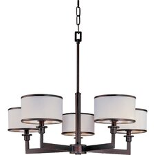 Inque 5 - Light Single - Tier Chandelier