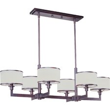 Inque 6 - Light Single - Tier Chandelier