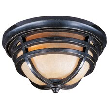 <strong>Maxim Lighting</strong> Westport VX Outdoor Flush Mount