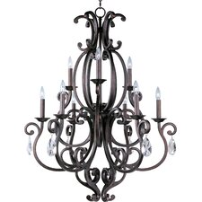 Hailee 9 - Light Multi - Tier Chandelier