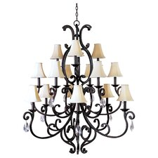 <strong>Maxim Lighting</strong> Richmond 15 Light Chandelier