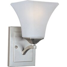 <strong>Maxim Lighting</strong> Aurora 1 Light Wall Sconce