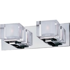 Cubic 2 Light Bath Vanity Light