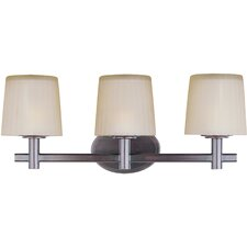 Finesse 3 Light Bath Vanity Light