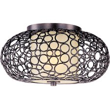 Meridian 1 Light Semi Flush Mount