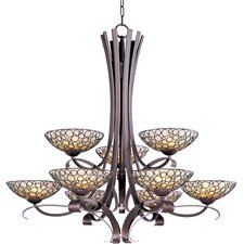 <strong>Maxim Lighting</strong> Meridian 9 Light Chandelier