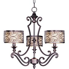 Mondrian 3 Light Chandelier