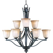 Soprane 9 - Light Multi - Tier Chandelier