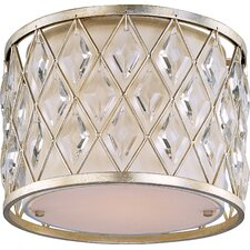 Diamond 1 Light Flush Mount